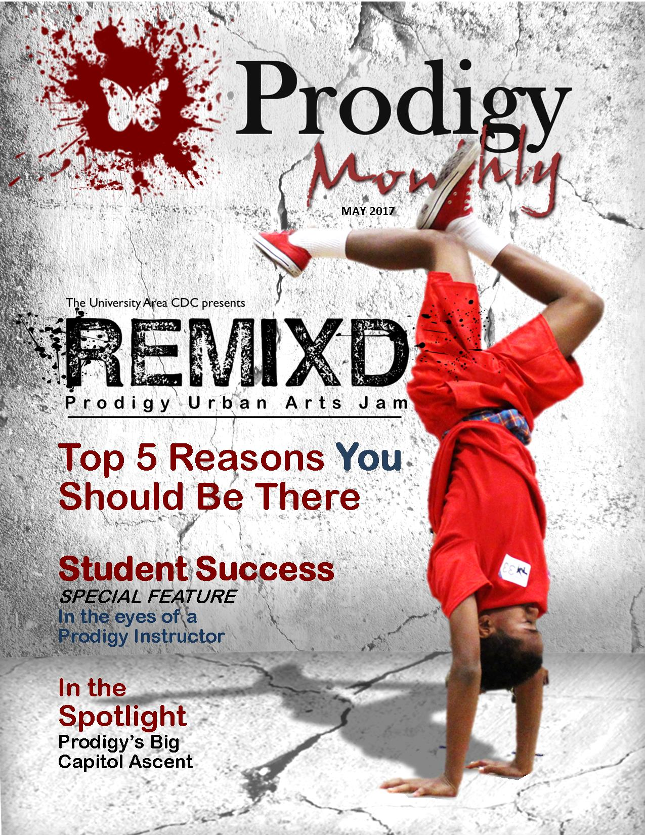 Prodigy Monthly May 2017cover